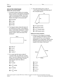 What Is Map Scale Geometry Packet
