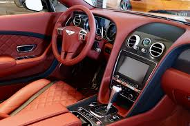 bentley interior 2017 2017 bentley continental gtc speed stock 7nc059999 for sale near