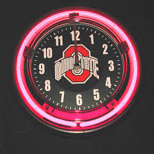 ohio state neon light route 66 gift shop