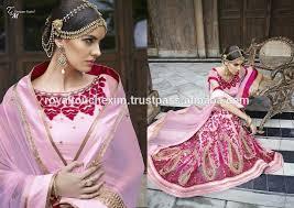 indische brautkleider finden sie hohe qualität braut hochzeit lehenga hersteller und
