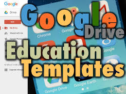 google drive education templates teachwithtech blog
