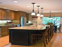 large kitchens with islands best kitchen island with seating designs ideas