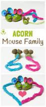 adorable acorn mice kids craft room