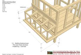 poultry house construction plans with look inside a chicken coop