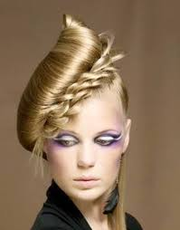 history of avant garde hairstyles a little on the wild side so perhaps not but still has that crazy