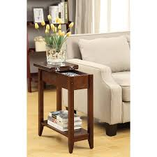 Tall Sofa Table by American Heritage Flip Top Tall Side Table Multiple Colors