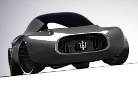 futuristic cars drawings maserati quattroporte 2030 a 1970s concept from the future