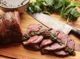 sous vide leg of lamb with mint cumin and black mustard recipe