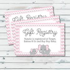 baby gift registry baby registry cards registry inserts baby shower gift