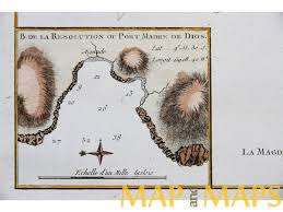 French Polynesia Map Islands French Polynesia Voyage James Cook Old Map 1780