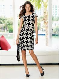 houndstooth dress houndstooth dress available at nextdirect and next co flickr