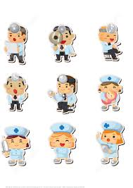 Doctor And Nurse Printable Doctor And Nurse Stickers Free Printable Papercraft
