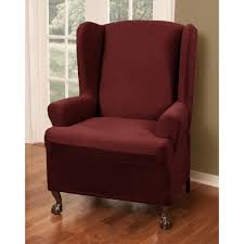 Walmart Slipcovers For Sofas by Decor Walmart Slipcovers Overstuffed Couch Wingback Chair Covers