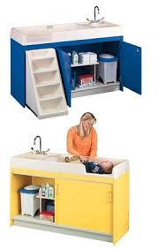 Changing Table For Daycare All Changing Table With Sink By Tot Mate Options Preschool