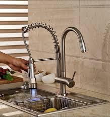 changer robinet evier cuisine led changement de couleur nickel brossé robinet de cuisine