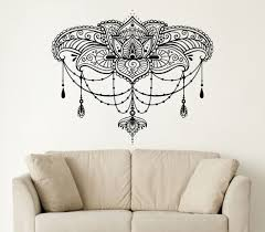 online get cheap buddha wall sticker aliexpress com alibaba group 26in 22in wall decals yoga lotus namaste indian buddha decal vinyl wall sticker home decor