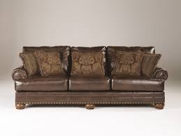 Durablend Leather Sofa Brown Leather Durablend Antique Sofa By Furniture