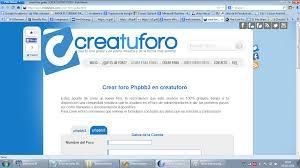 crea tu foro gratis http www creatuforo com crear foro gratis