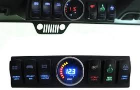 led light bar switch panel led light bar switch panel ls and lighting by iadpnet