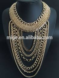 chain necklace types images Wholesale fashionable gold long chain necklace different types of jpg
