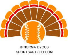softball thanksgiving and sports clip library