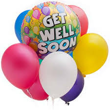 get well soon and balloons get well soon balloon arrangement in sedalia mo state fair floral