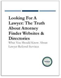 free finder websites looking for a lawyer about attorney finder websites