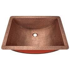 undermount bathroom sink bowl polaris sinks undermount bathroom sink in bronze p169 the home depot