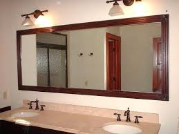 extraordinary bathroom mirror frame ideas mate s u2013 theslant decor