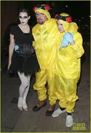 Breaking Bad Halloween Costume Guy Ritchie U0026 Son Rocco U0027breaking Bad U0027 Halloween Photo