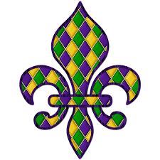 mardi gras beads clipart 52