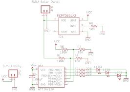 Solar Light Charging Circuit Building An Attiny13 Solar Garden Light Insidegadgets
