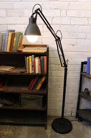 Anglepoise Floor Lamp Industrial Balanced Arm Floor Lamp Anglepoise Inspired Floor Lamp