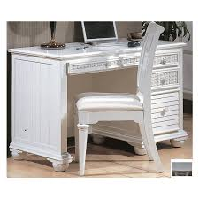 White Computer Desk Shop Hospitality Rattan Ships Wheel White Computer Desk At Lowes Com