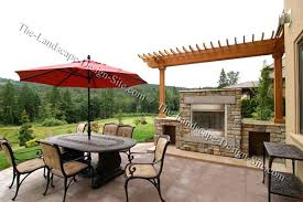 Patio Fireplace Kit by Breathtaking Stone Patio Fireplace Images Best Image Engine