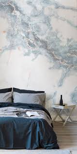 bathroom wall mural ideas bedrooms modern floral wallpaper light blue wallpaper bathroom