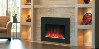 Fireplace Insert Electric Electric Fireplace Insert Dining Room Traditional With Bench Blue