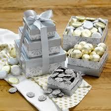 holiday chocolate gifts tower of treasure christmas chocolate