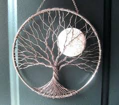 tree of life home decor wire tree wall hanging home decor calming tree wire tree of life