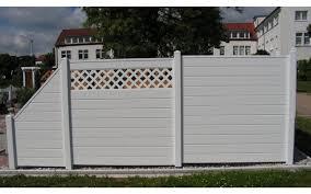 sichtschutzzaun weiß kunststoff heimdesign innenarchitektur und