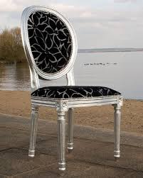 Silver Dining Chair French Oval Silver Dining Chair Feather U0026 Weave Bespoke Dining Chair