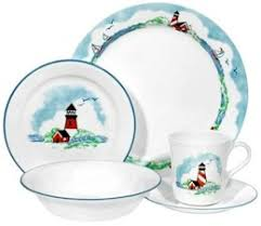 discontinued corelle outer banks dinnerware
