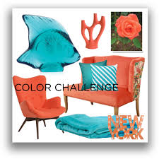 polyvore home decor coral and turquoise home decor polyvore