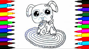 coloring pages littlest pet shop l lps drawing pages l learn