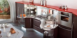 Home Design Modular Kitchen Red Kitchens