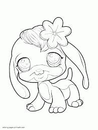 littlest pet shop coloring pages to print qlyview com