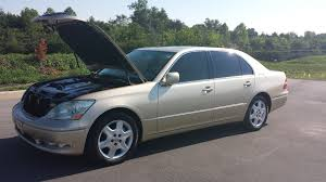 lexus gold sold 2005 lexus ls430 sedan 93k 2 owner gold tan leather moonroof