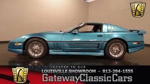 1987 greenwood corvette 1987 chevrolet corvette louisville stock 948