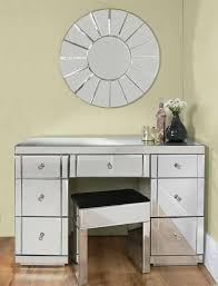 dressing table with mirror and drawers valeria toughened mirrored dressing table 7 drawer mirrored