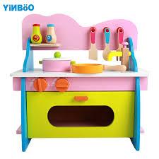 jouets cuisine bébé jouets kid cuisine set de cuisine en bois jouet pour enfants en